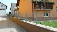 Izrada žičanih ogradnih panela
