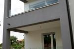 Balkonske inox ograde sa staklom