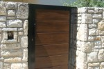 Dvorišna vrata sa ispunom prodaja